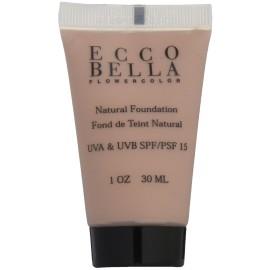 Ecco Bella FlowerColor Liquid Foundation SPF 15 Natural