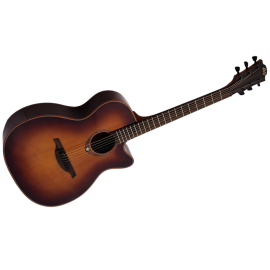Auditorium Cutaway Acoustic-Electric Brown Shadow
