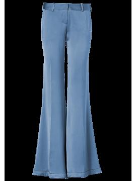 BALMAIN Flared Silk Pants