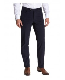 Flat Front Twill Trousers