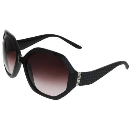 Guess Sunglasses - 6534 Frame Black Lens Pink Gradient