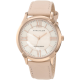 Rose Gold-Tone Watch with Swarovski Crystals