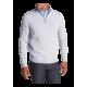 Half Zip Merino Wool Sweater