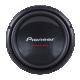 Package (2) Pioneer TS-W310D4 12 2800 Watt Dual 4-Ohm Car Audio Subwoofers