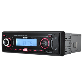 Pyle PLR17MPUA In-Dash AM-FM-MPX Receiver MP3 Playback with USB-SD Card and Aux-In