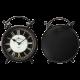 Adeco [CK0034] Antique Vintage Retro Round Decorative Iron Wall Clock Champs Elysees- Home Decor
