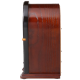 Crosley CR31-WA Companion Retro AM-FM Radio with 1 Full-Range Speaker (Walnut & Burl)