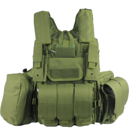 Heavy Duty Molle Vest Combat Tactical Gear