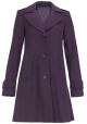 Hudson Box Pleat Coat