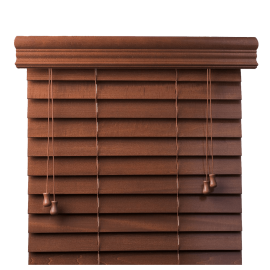 Customized Real Wood Blinds