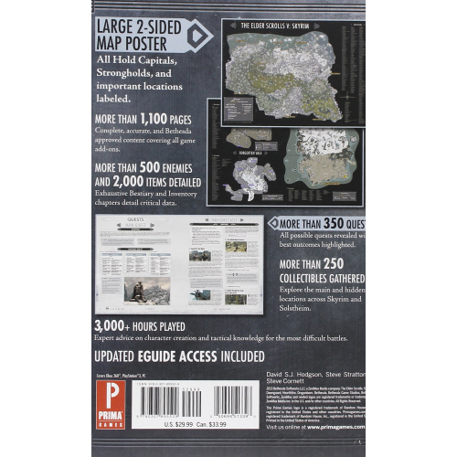 Elder Scrolls V- Skyrim Legendary Standard Edition- Prima Official Game Guide (Prima Official Game Guides) by David Hodgson