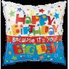 IT'S YOUR BIG DAY happy birthday balloon