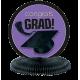Congrats Grad Purple GraduationCenterpiece