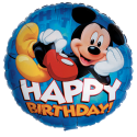 Mickey Happy Birthday 18'' Foil Balloon