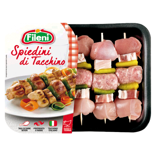 Fileni Turkey kebabs