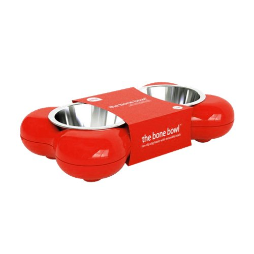 The Bone Bowl with Non Slip Rubber Feet