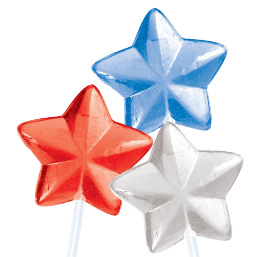 24 STAR Twinkle Pops Assorted 7 Flavors