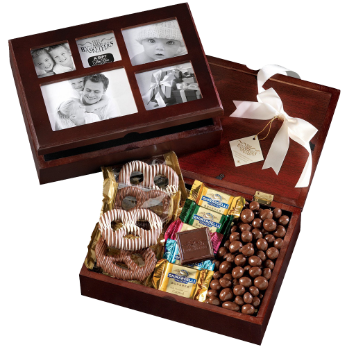 Broadway Basketeers Photo Gift Box (Kosher) A Unique Holiday Christmas Gift Idea