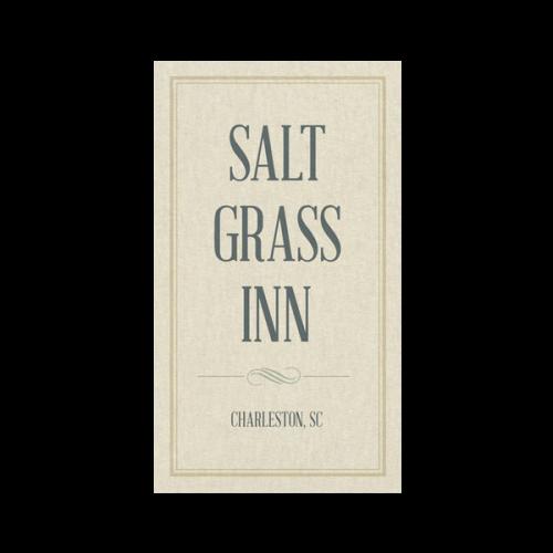 Textured Inn Business Card Template