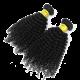 Mixed Length Natural Black