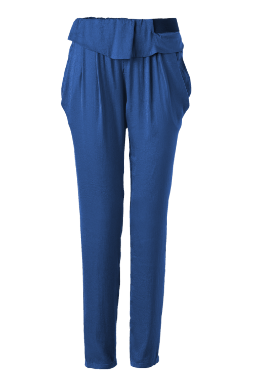 Harem Pants with Elasticized Waist