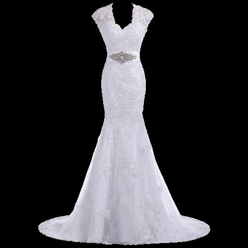 Elegant Trumpet Evening Gown Bridal