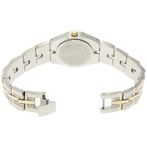 Two-Tone Bracelet Watch