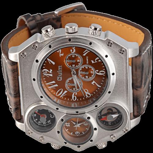 Strap Four Sub-dials Men Watch