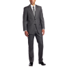 Men's Nathan Gray Pinstripe Two-Button Trim-Fit Suit