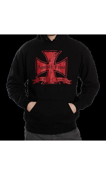 hoodie mens Agnostic Queue - RAGEWEAR