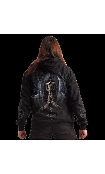 hoodie mens SPIRAL - Death Prayer