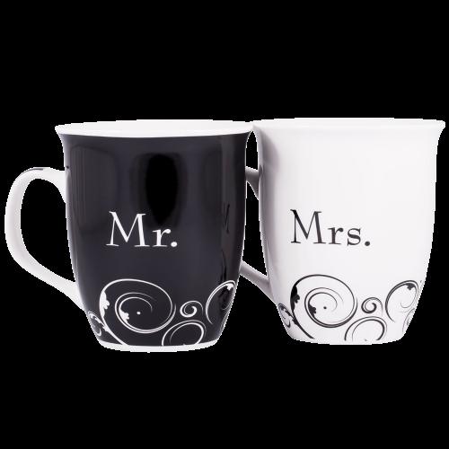 Mr. and Mrs. Christian Coffee Mug Set