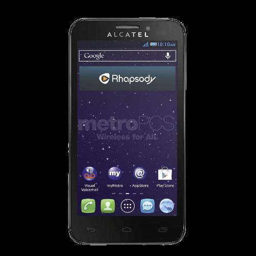Alcatel One Fierce Prepaid Phone