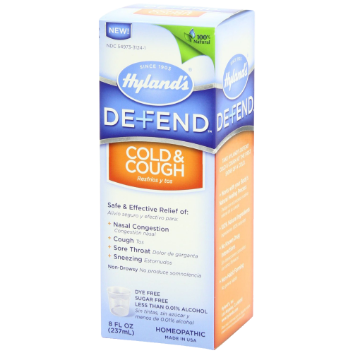 Hyland's Defend Cough and Cold