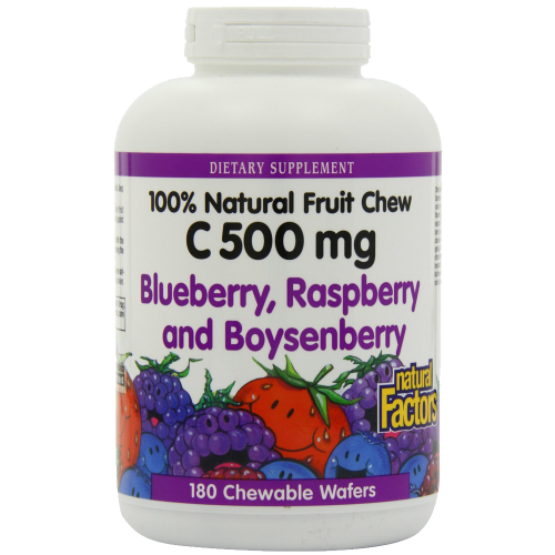 Vitamin C Blueberry, Raspberry, Boysenberry Chewables