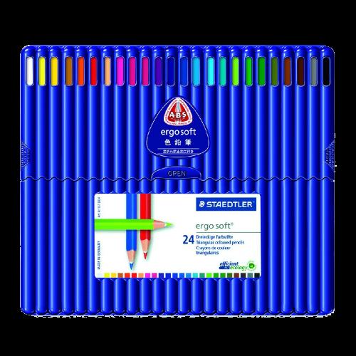 Triangular Colouring Pencils
