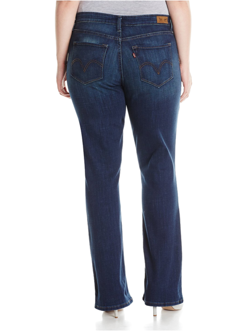 Plus-Size 512 Boot Cut Jean