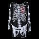Halloween Skeleton Skull Bone Girls Dress