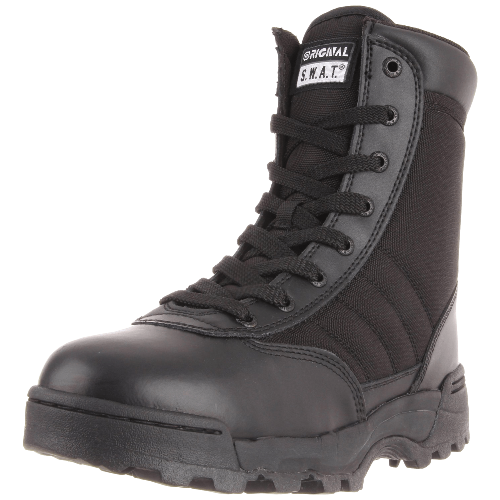 9 Inch Side Zip Military and Tactical Boot
