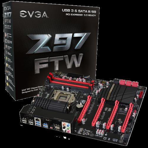 EVGA Z97 FTW LGA1150 ATX 4 DIMM Dual-Channel
