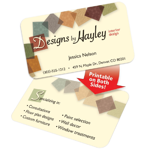Business Cards for Inkjet Printers