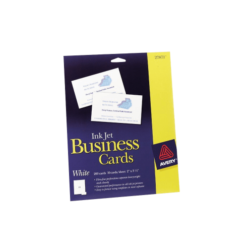 Avery Business Cards for Inkjet Printers