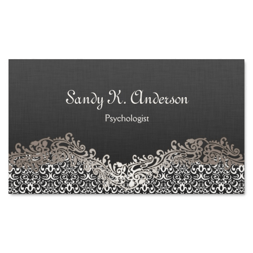 Psychology Appointment Business Cards