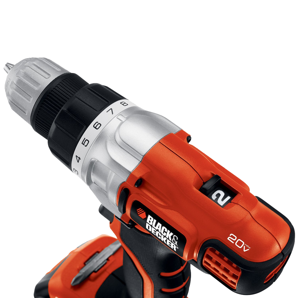 Black & Decker LDX220SBFC 20-Volt MAX Lithium-Ion Drill-Driver with Fast Charger 3.png