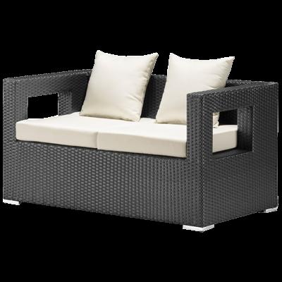 Algarva Outdoor Sofa in Chocolate 1 copy