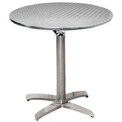 Cafe Dinette Table Silver Swirl 1 copy