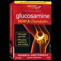 Microgenics Gluc MSM + Chon 60t 1