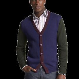 Colorblock Wool Cardigan_1