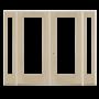 Benchmark by Therma-Tru 94-in Low-E 1-Lite Fiberglass French Inswing Patio Door_3