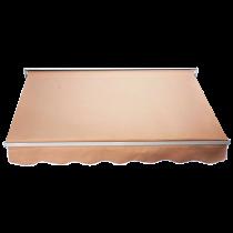 Cream Luxury 6ft Door Window Awning Drop Arm Door Shelter Sun Shade Canopy _1